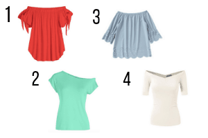 what kind of tops to wear with long skirts