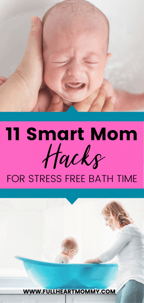 Are you a new mom ready to give your baby a bath for the first time? Here are the best new mom tips for safety and comfort for baby's bath time. Have a more enjoyable experience with these baby bath essentials and hacks.