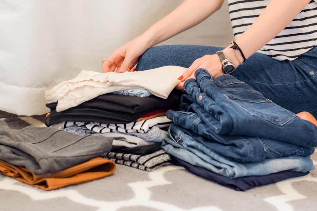 mom hack to save time with laundry